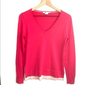 Boden Pink long sleeved sweater, Size XS